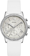 Guess Casual Watch for Women , Silicone , W1135L7