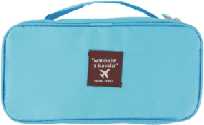 Turquoise color underwear bag for women item 46 - 40