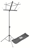 on stage On-Stage Compact Sheet Music Stand, Black SM7122BB - 5112