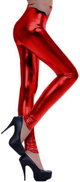 Red Slim Fit Trousers Pant For Women