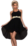 FG Night Out & Cocktail Dress For Women Size L , Black