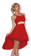 Fg Night Out & Cocktail Dress For Women Size Xxl , Red