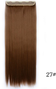Fashion several different colors long straight Hair Extension 5016-1