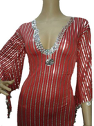 Red Sequin Special Occasion Dress For Women