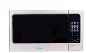 Midea EG036AAA Digital Microwave with Grill - 36L, Silver