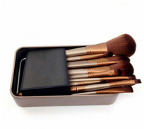 Other 12 pcs kit professional makeup brushes set with Metal boxes