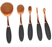 Other Oval Make Up Brush Set Of 5
