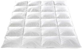 Toson Sleeping Systems Double Feather Quilt For Large Bed - White,230×240cm