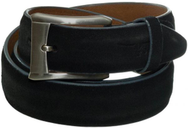 Oryx Black Velvet Belt For Men