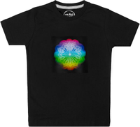 Nemo Now Black Round Neck T-Shirt For Girls