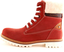 DarkWood Brick Lace Up Boot For Women