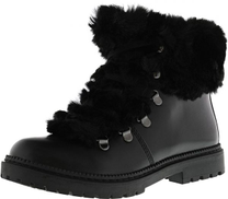 Inc Black Shearling & Snow Boots For Women