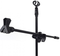 0 Professional Swing Boom Floor Stand Microphone Holder