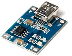 arduino Lithium Battery Charger Module 1A TP4056