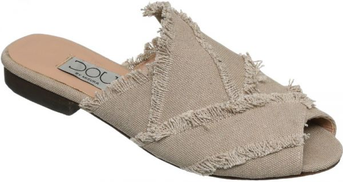 Dou By Misura Slides Slipper For Women - Beige