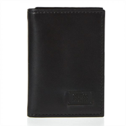 Guess Trifold Wallet For Men, Black - 31GUE11026