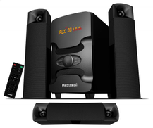 Media Tech 3.1 Channel Bluetooth Home Theater System MT-608 Black