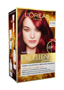 L'OREaL PaRiS Excellence Intense Hair Color, Intense Red-6.66
