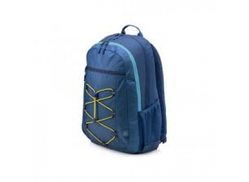 Hp 1Lu24Aa Active Backpack For Laptops- 15.6 Inch, 39.62 Cm, Navy Blue Yellow, Unisex