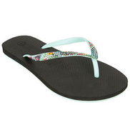 OLAIAN Women's Flip-Flops TO 500 Doty Black