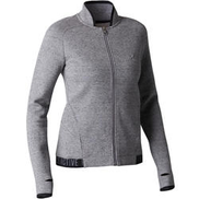 DOMYOS 900 Women's Stretching Jacket - Grey