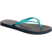 OLAIAN Women's Flip-Flops TO 100 - Blue Turquoise