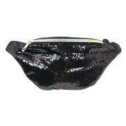 Generic Black Sequins Waist Bag