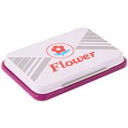 Flower Stamp Pad - 5.5X9 Cm - Purple