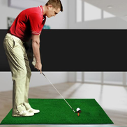 Generic Indoor Golf Practice Mat EVA Materials Golf Exercise Mat With TEE Regular Edition, Size: 5080cm