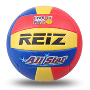 Generic Soft Touch PU Leather 5 Volleyball Ball Training Competition Volleyball Ball Yellow & Red & Blue