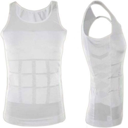 Magic Slim Vest For Men, white XL