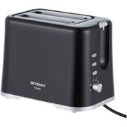 Sonai SH-1808 Toasty Electric Toaster - 2 Slices - Black