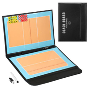 Foldable Volleyball Magnetic Tactic Board Coaching Strategy