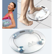 Generic Digital Glass Top Bathroom Scale