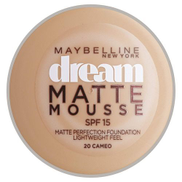 Maybelline New York Dream Matte Mousse Foundation SPF 15 - 20 Cameo