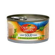 California Gardens White Solid Tuna In Olive Oil - 185 G