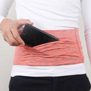 Generic حقيبة تابلت شخصية ذات سعة كبيرة قابلة للتمدد للسفر مضادة للسرقة حقيبة هاتف ، الحجم: LOrange