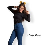 Comodo Long Sleeve Cotton-black