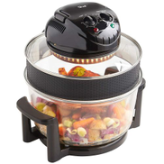 Shef Halogen Oven - 12 To 17 L - 1400 W - Black