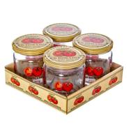 Herevin Spice Jar Set With Metal Lid - 425 Cc - 4 Pcs