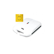 DSP kc1061 Sandwich Maker, 1200 watt - White