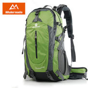 Generic 40L 50L Travel Backpack Men Women Trekking Backpack Waterproof Climb Mountaineering Camp Equip Hiking BackpackFruit Green
