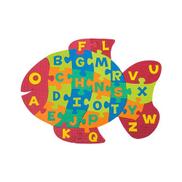 Fluffy Bear Eva Foam - ABC Fish Puzzle