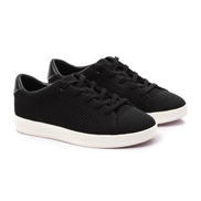 ALDO Knitted Lace Up Sneakers - Black