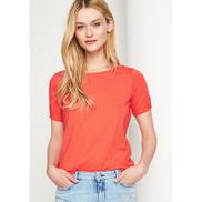 Generic Basic Round Neck T-shirt - Watermelon