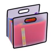 Generic Accordian Expanding File Folder A4 Paper Filing Cabinet 12
