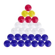 50Pcs Professional Mixed Color Plastic Golf Ball Markers