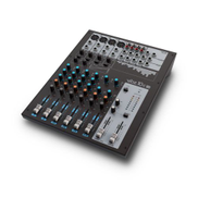 LD SYSTEMS 10 Channel Mixing Console with Compressor VIBZ10C Black Silver