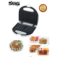 Dsp Waffle Makers - 750w - KC1058