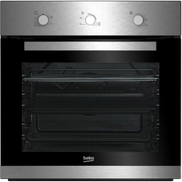 Beko Built in Stainless -Cast Iron Gas Hob 60cm + Oven66 Litre- BIG22100X 64225